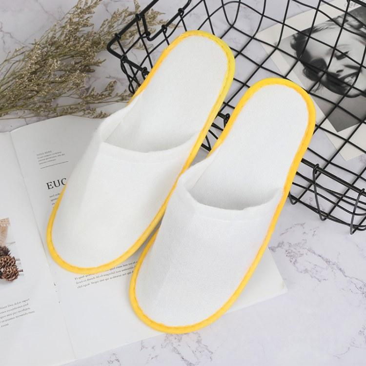 伊兰美品牌[厂家直销]高档酒店宾馆一次性拖鞋 拉毛布面料 量大优惠