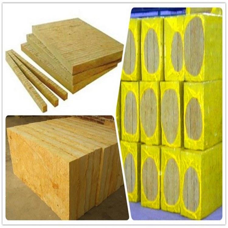 外墙优质憎水岩棉板 国标包检验 防水防火阻燃保温板 幕墙吸音降噪板 复合砂浆板