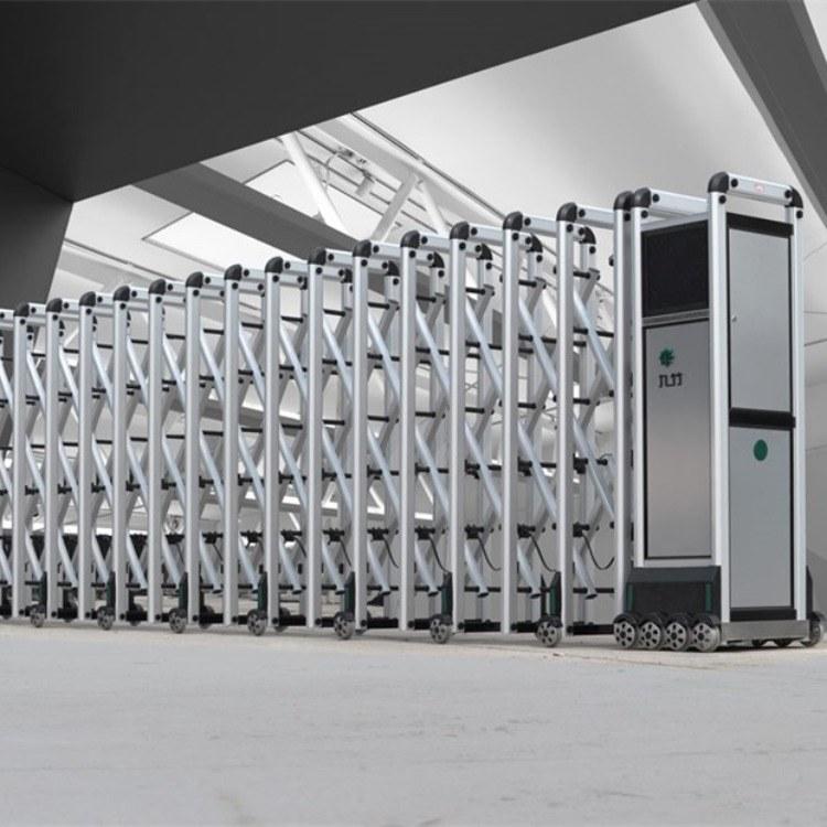 扬州九竹智能伸缩门  工厂专用九竹智能电动门  专业电动门厂家