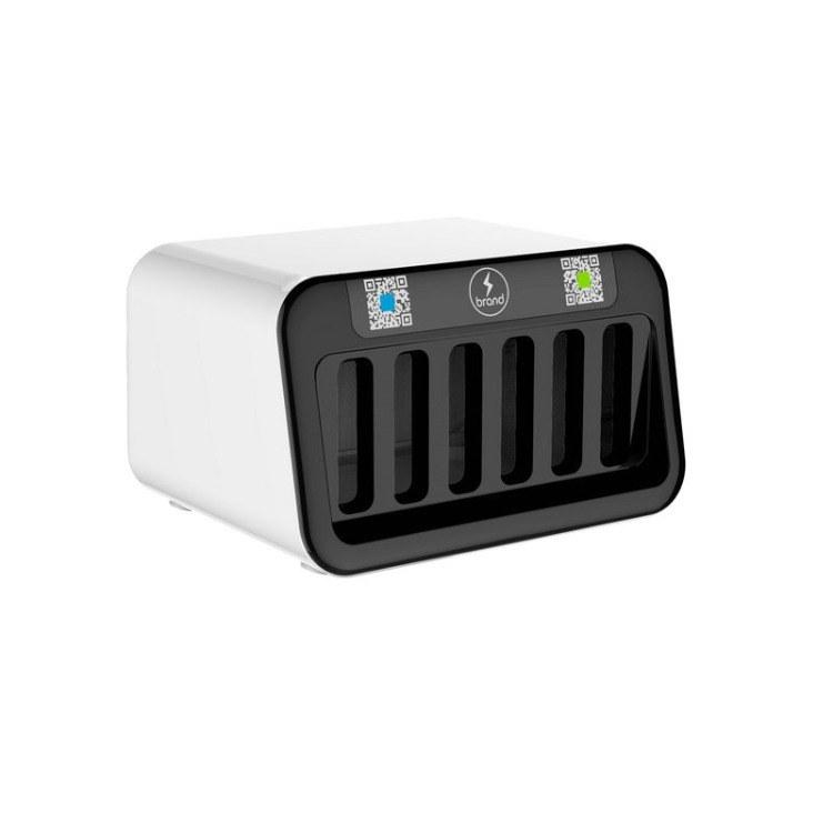 中电核心 共享移动充电宝OEM 充电柜 6口电源机柜