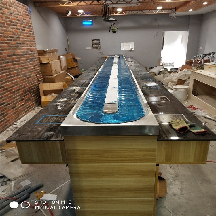 金升 旋转小火锅设备 回转小火锅设备价格 小火锅设备厂家