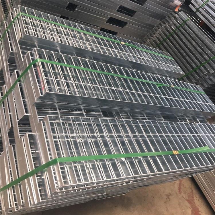 六畅厂家直销 热镀锌钢格板 重型 压焊 平台格栅板 质量优良