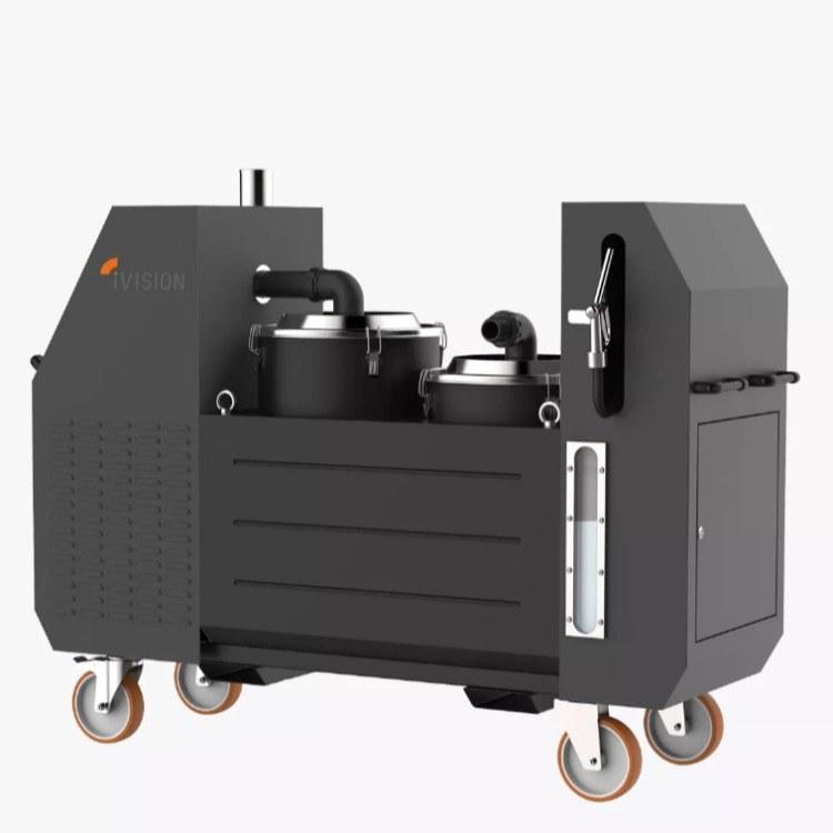 工业吸油机 专业吸油吸水机 ivision 意大利进口设备 容量100L配置旋风分离器,钢制滤筛网