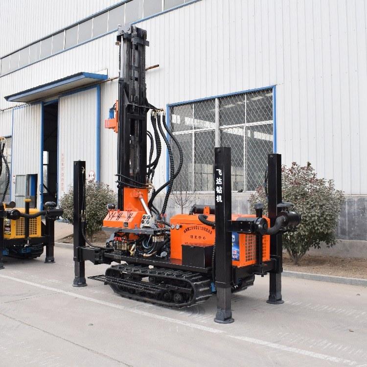 山东亿创机械设备 厂家直销FY180水井钻机高效快捷打井机全液压履带式钻井机打井设备