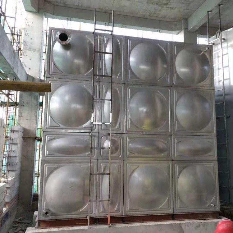 定做地埋式 玻璃钢模压饮用水箱smc水箱 组合式消防玻璃钢水箱