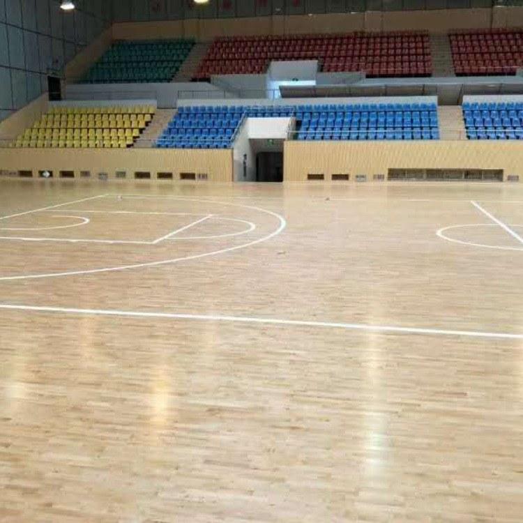体育地板     亿鑫木地板     篮球实木木地板      室内运动木地板      足球场地