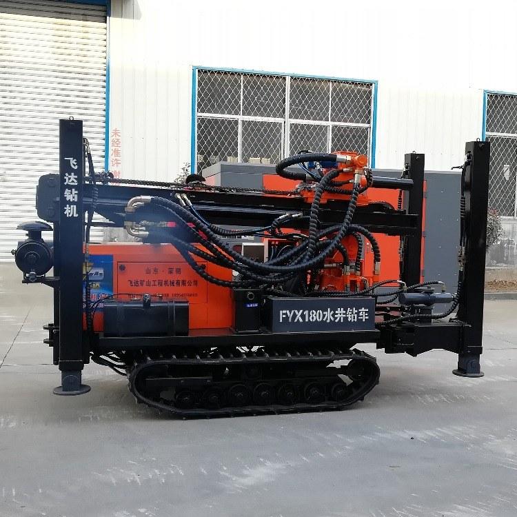山东亿创机械设备 厂家直销FY180水井钻机高效快捷打井机 全液压履带式钻井机打井设备