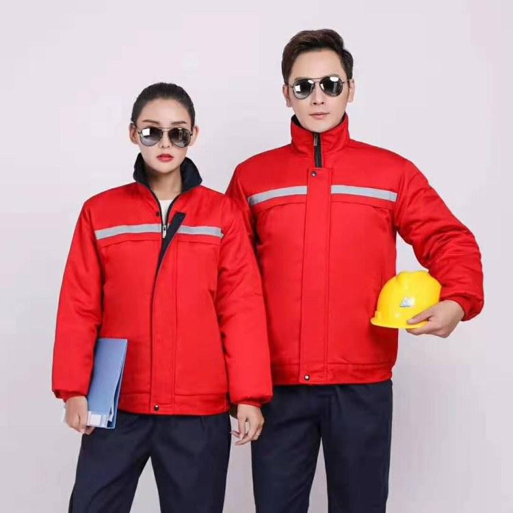 河南工作服厂家 定制车间工作服 起一点服饰生产批发