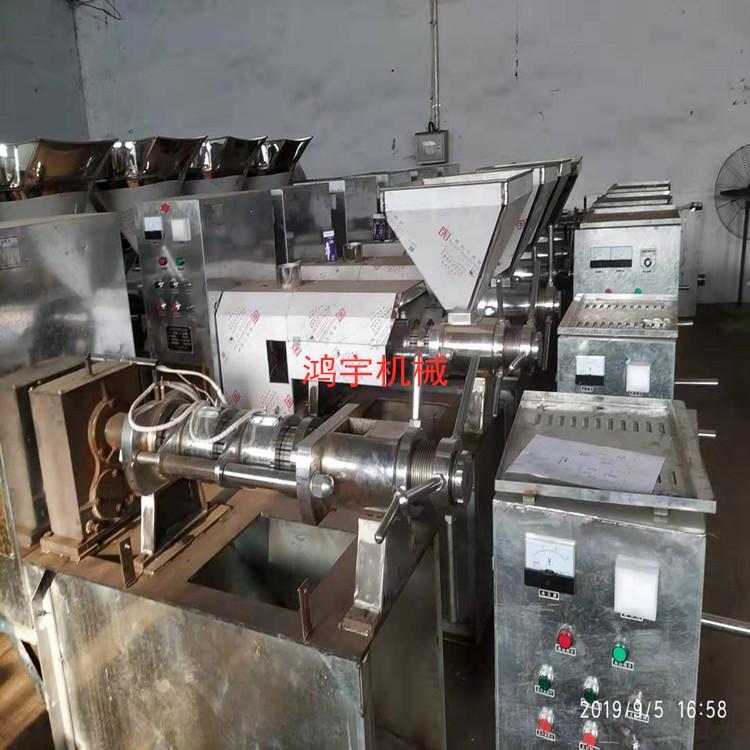 新疆大型螺旋榨油机全自动花生大豆榨油机商用油坊加工多功能榨油机器