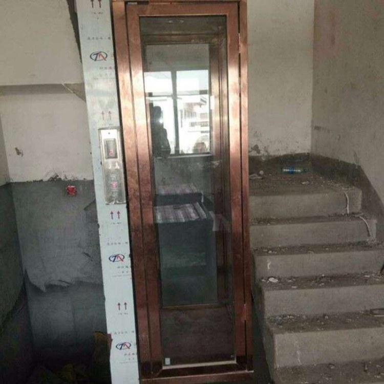 厂家直销液压小型家用电梯 液压家用升降平台别墅小型电梯