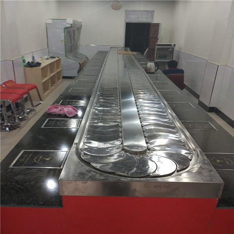 金升 旋转小火锅设备厂家 回转寿司设备 专业定制旋转火锅设备