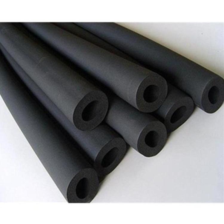 河北橡塑管 B1级阻燃隔热空调橡塑管   管状防火防水防潮保温管道