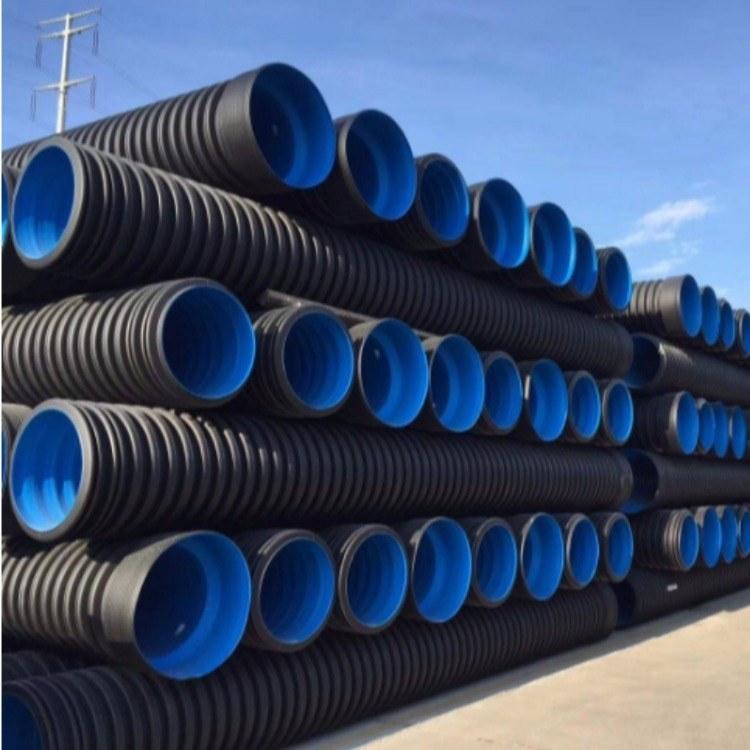 双壁波纹管/排水管/排污管/HDPE/塑料管/中迈