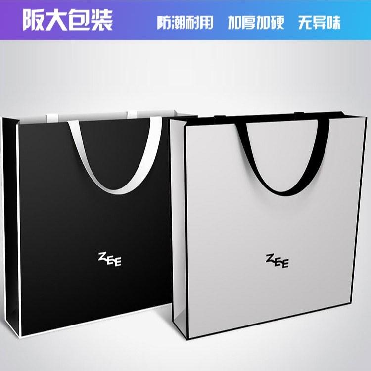 阪大手提袋制作女装饰品食品级纸袋外卖手提包装袋 耐高温保温持久 上海厂直销