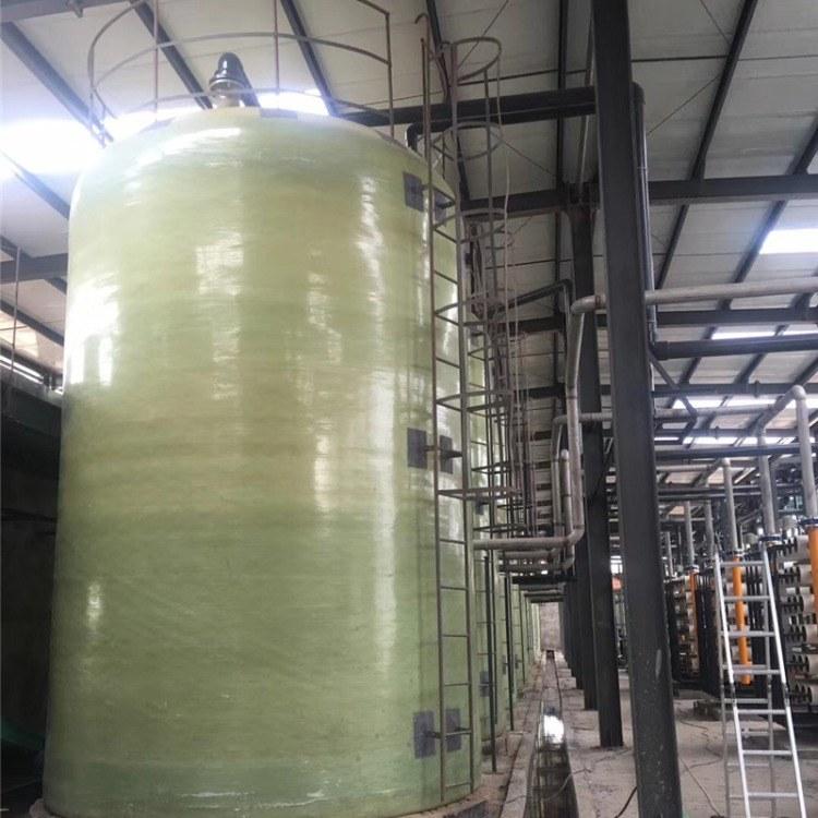 河北厂家按需生产 盐酸罐 立式储罐 卧式储罐 玻璃钢材质
