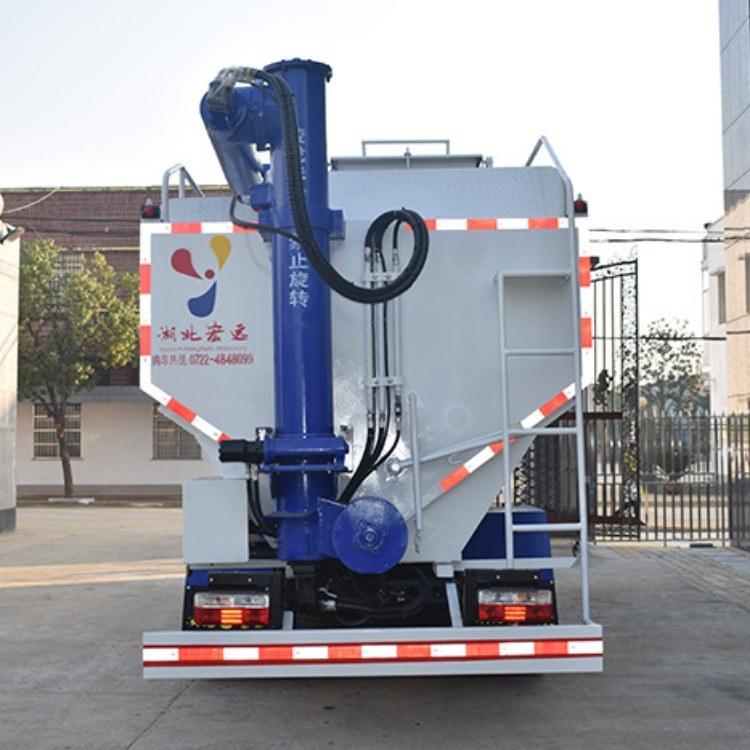 厂家6吨散装饲料运输罐,定做包配送散装饲料厂家