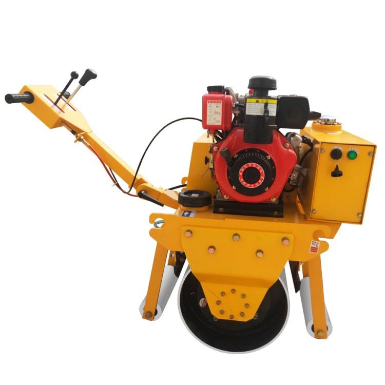冠森手扶压路机报价  沥青路面小型压路机