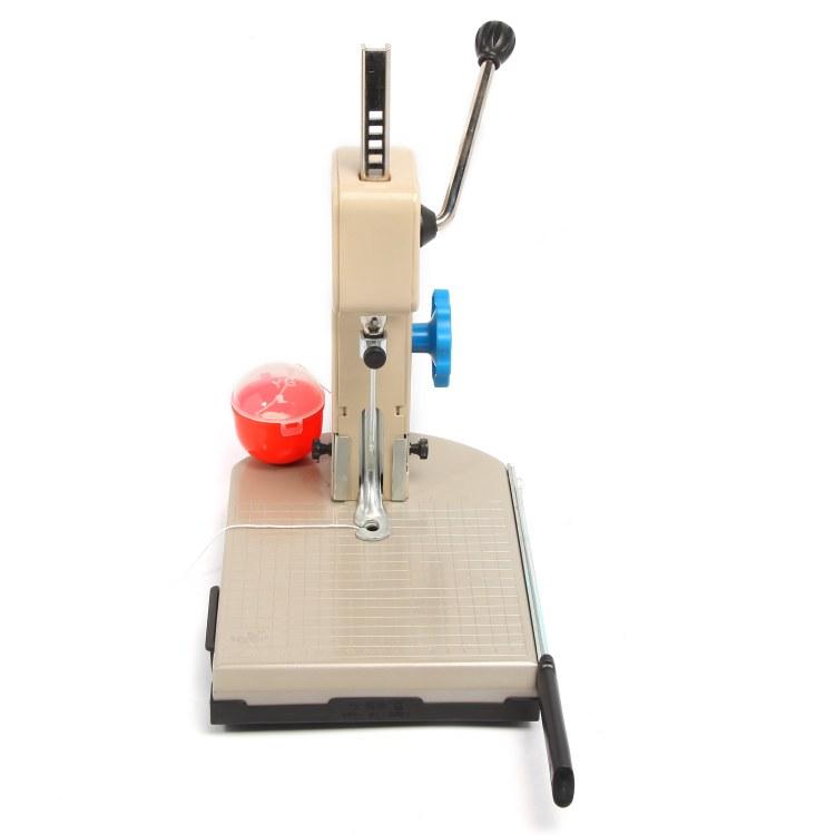 浙江云广装订厂家专业生产小型平装书喷塑电动装订机专为财务装订机