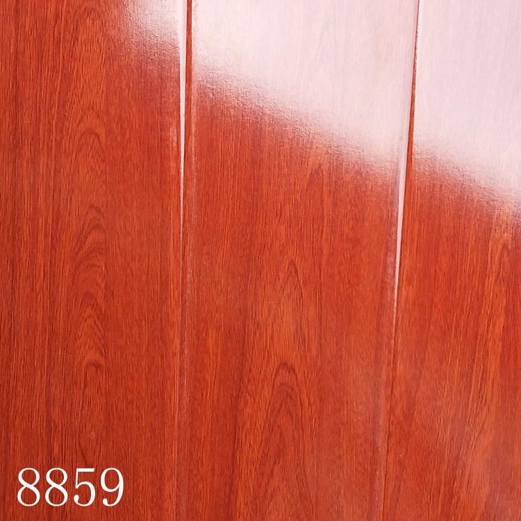 实木地板厂家成都建达工厂直销12mm环保耐磨工程酒店用木地板