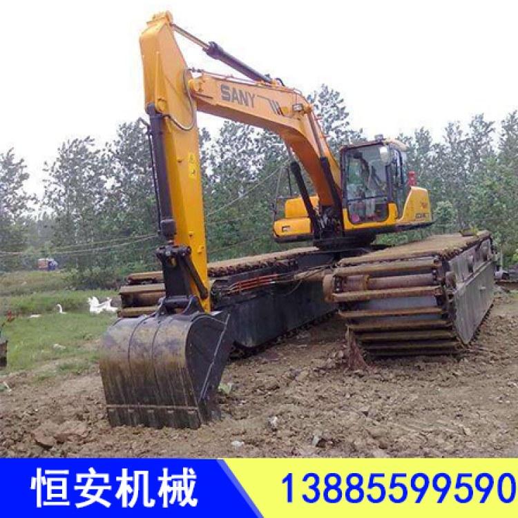贺州挖机租赁广东河道清淤湿地开发团队