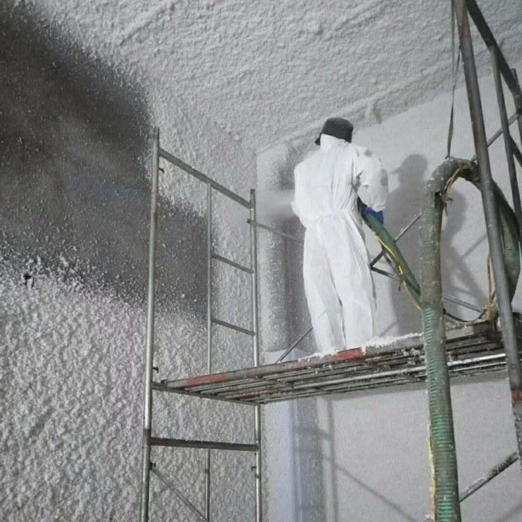 佳禾无机纤维  ktv矿物纤维喷涂 防火保温全国施工 备案齐全