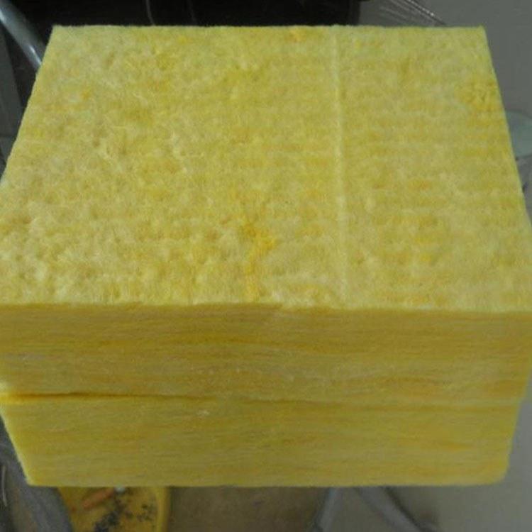 纤维状防火 保温玻璃棉板 阻燃岩棉材料复合板