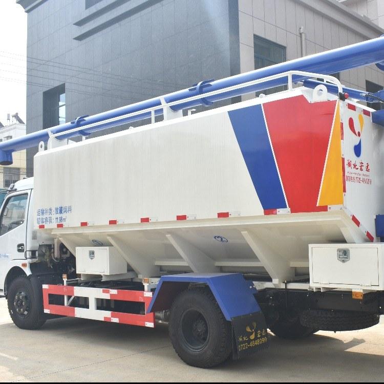 湖北黄冈6吨散装饲料运输罐,厂家定做包配送