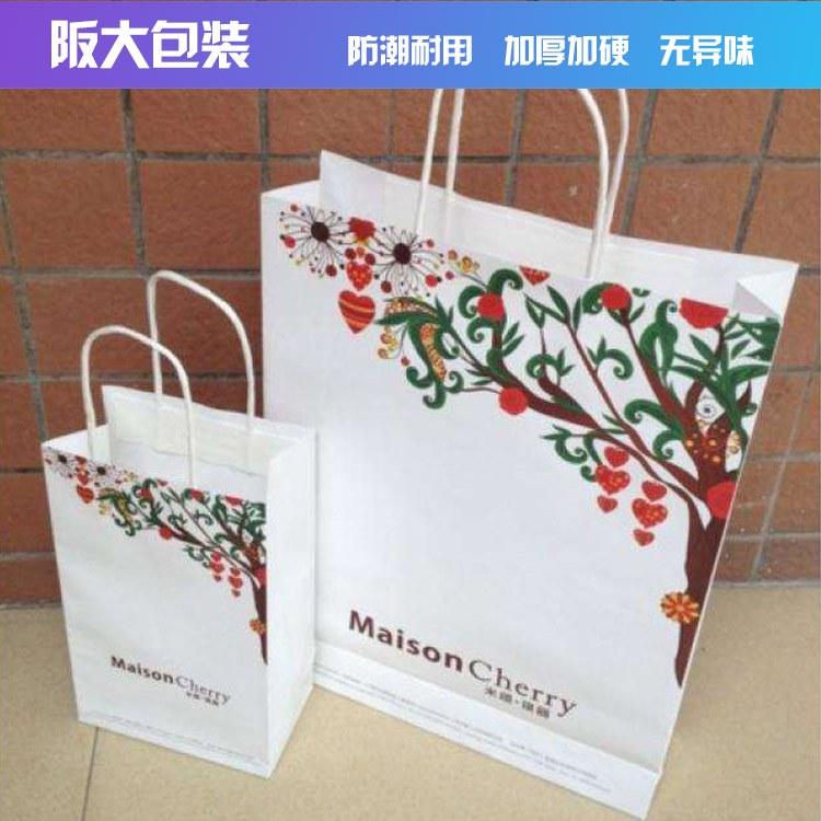阪大包装购物手提袋服装购物袋礼品袋订做厂家专业定制上海印刷厂
