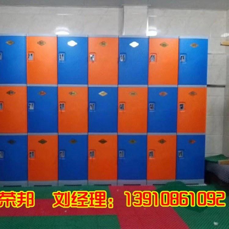 水上乐园彩色储物柜ASB全塑更衣柜组合柜
