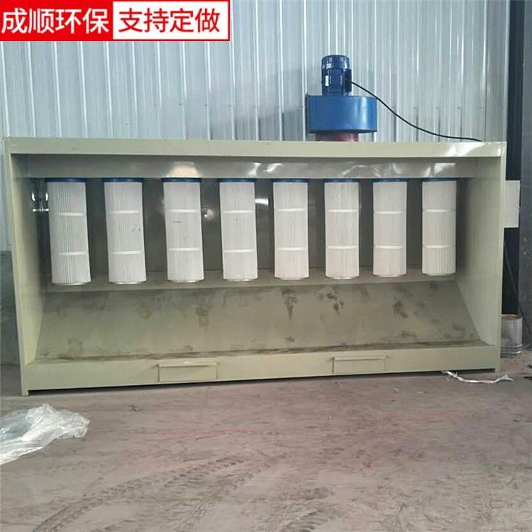 静电喷涂粉末回收机 环保型塑粉回收机粉末回收柜 专业生产定做塑粉回收机