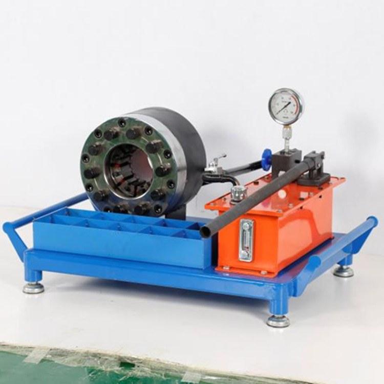 耐用钢管锁管机厂家 钢管锁管机厂家 宇星卧式扣压机生产
