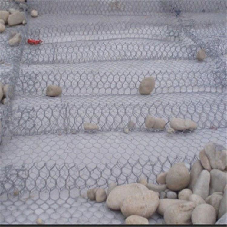 赢兆 包塑pvc石笼网 铅丝石笼网护坡 镀锌铅丝石笼网厂家 一条龙服务
