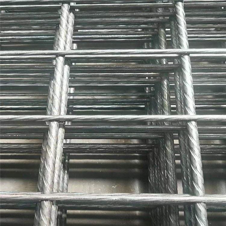 河北货源地厂家直销建筑电焊网片2.0-6.0mm黑丝焊接网片地暖建筑工地用 帅森