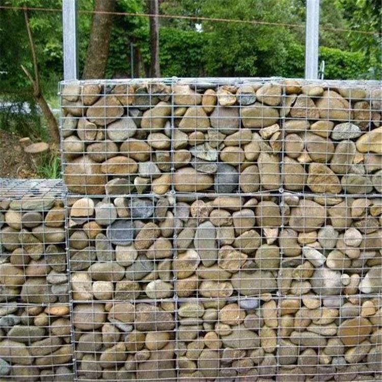 外墙电焊石笼网酒店外墙内装石头园林厂家直供焊点均匀表面良好 景观石笼网厂家哪里找?