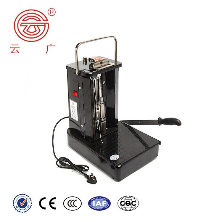 云广供应财务倒置式装订机电动带线财务凭证装订机会计打孔机