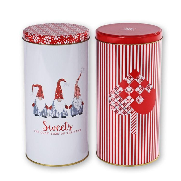 厂家定制金银花茶包装铁罐_茶叶金属包装盒工厂