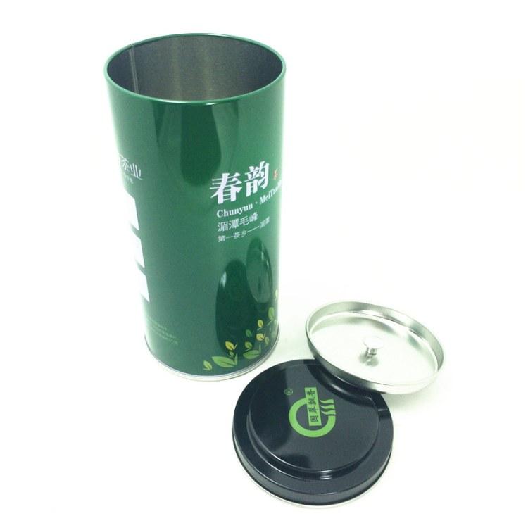 绿茶包装铁盒_茶叶铁盒厂