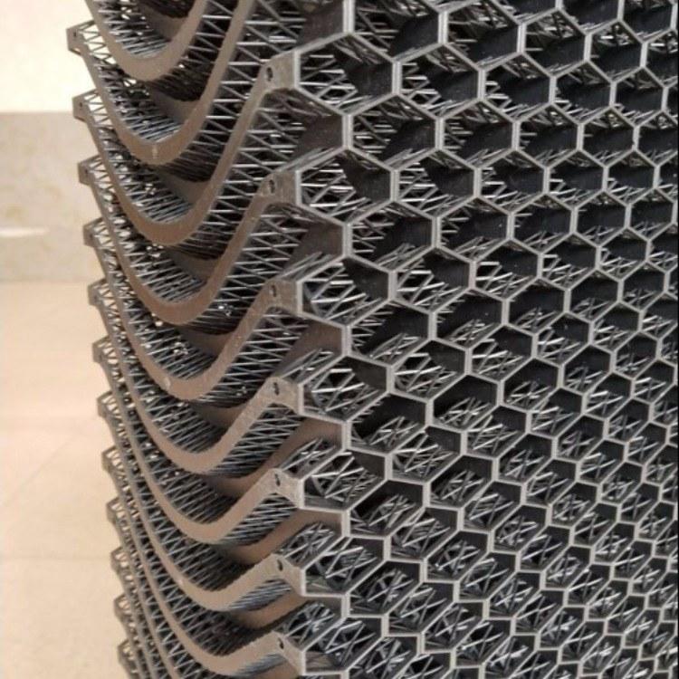 自强  塑料水帘可清洗塑料湿帘石材打磨柜设备打磨台水式过滤材料黑网子
