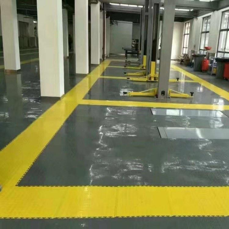 厂家直销车间 耐磨阻燃专业工业PVC地板价格耐冲击摩察系数大弹性高 柯奥品质优信誉保证