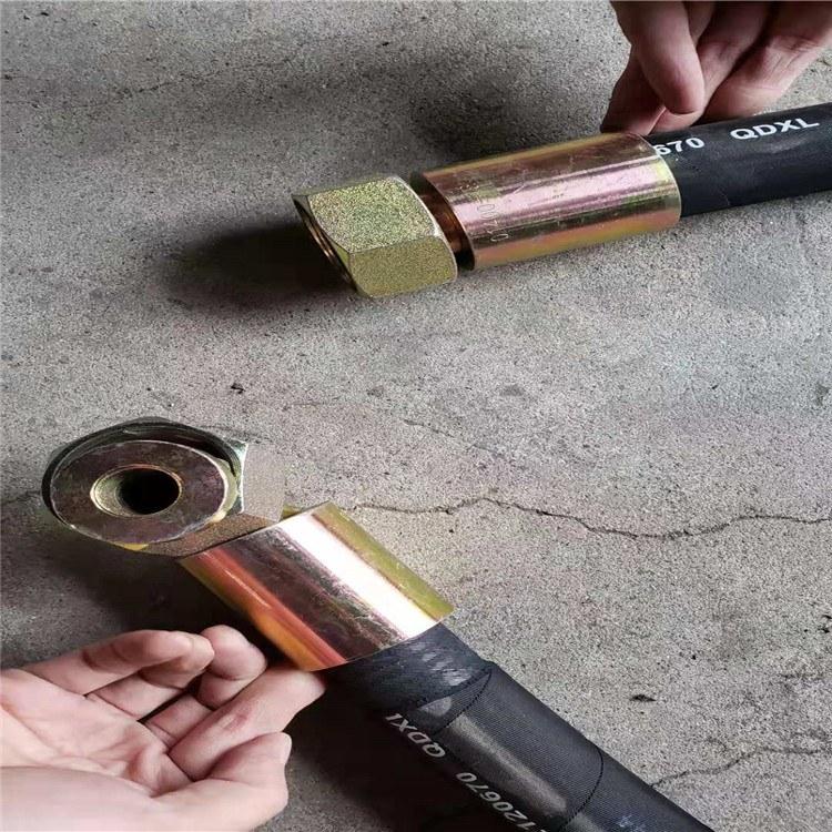 德利高压疏通胶管耐火阻燃胶管钢厂炉前用耐火隔热胶管
