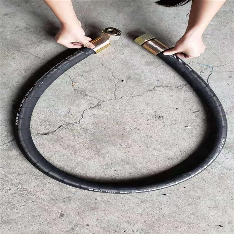 钢丝编织高压胶管耐磨高压橡胶管钢厂炉前专用软管