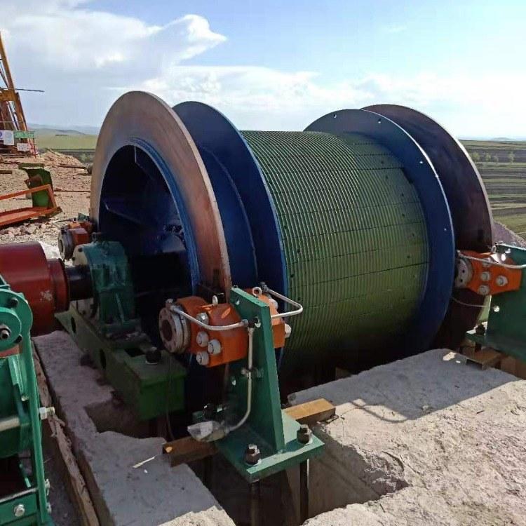 鹤壁星光煤矿卷扬机 载人绞车 矿山提升设备 JTP-1.6*1.5P
