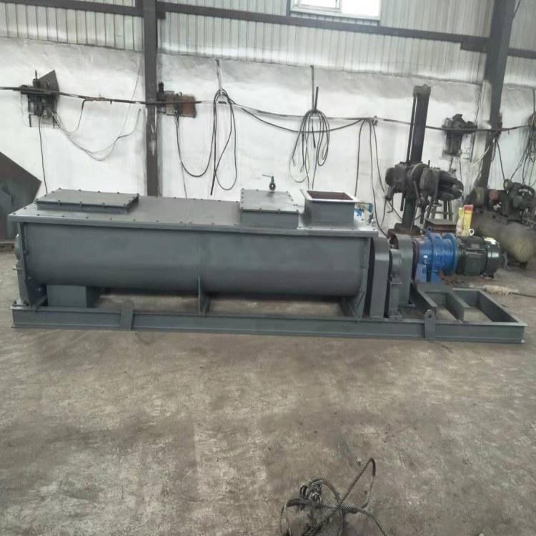 河北平山创新加湿搅拌机厂家 加湿机 双轴加湿搅拌机价格 粉尘加湿搅拌机