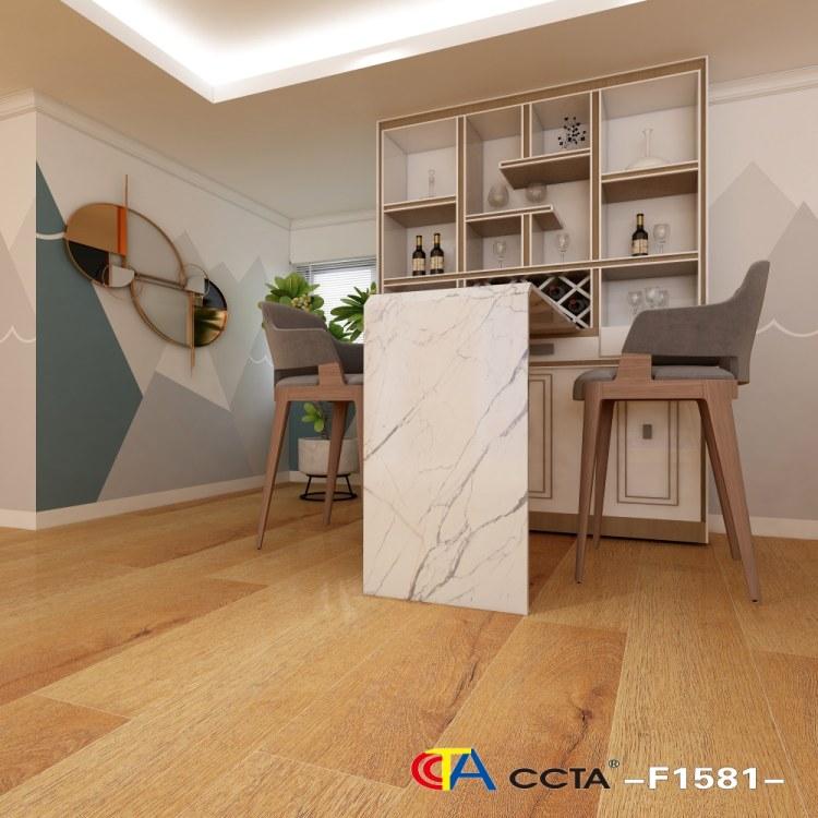 木地板 地热地板 新三层实木金刚面 防水 耐磨