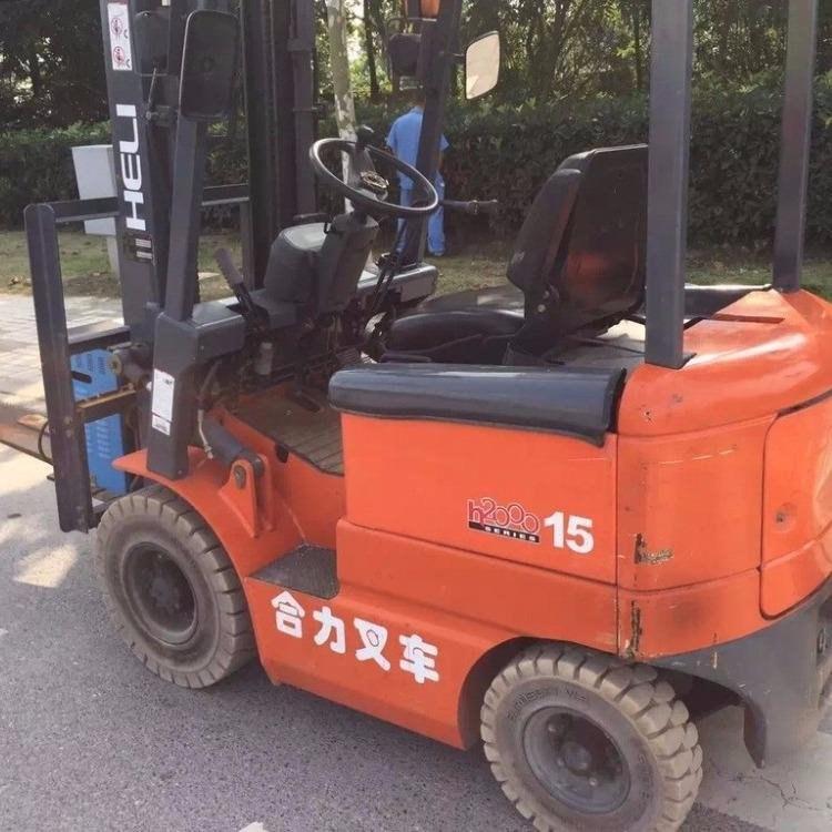 上海原厂油漆合力1.5吨二手电动叉车 国产合力2吨电动叉车报价