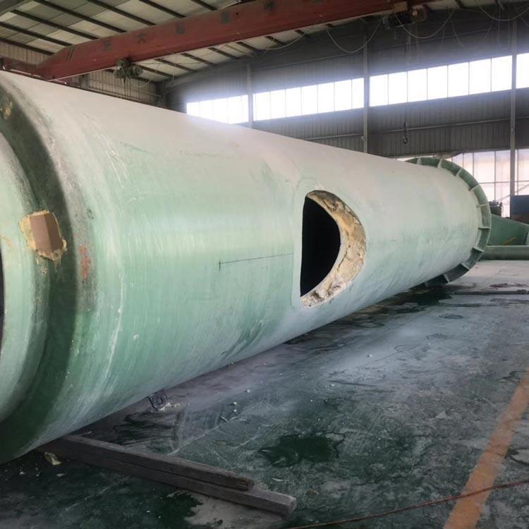 可加喷淋玻璃钢烟囱 无冷凝水玻璃钢烟囱 加工玻璃钢烟囱 报价