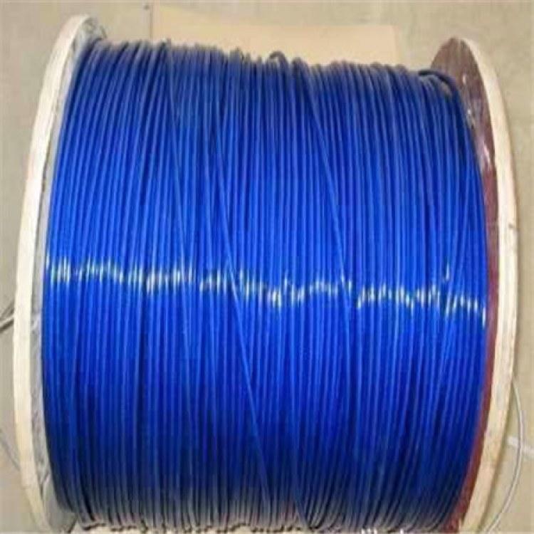 德力专业加工 304超细不锈钢钢丝绳 全细超软 304包胶涂塑钢丝绳