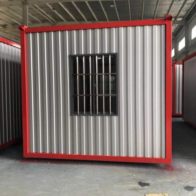 安装代理定制钢结构房住人集装箱