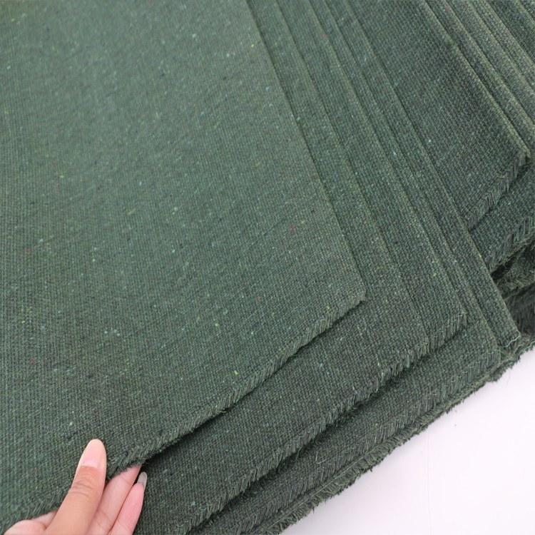 威克特厂家生产绿帆布 防水防老化帆布 防雨布货场盖布