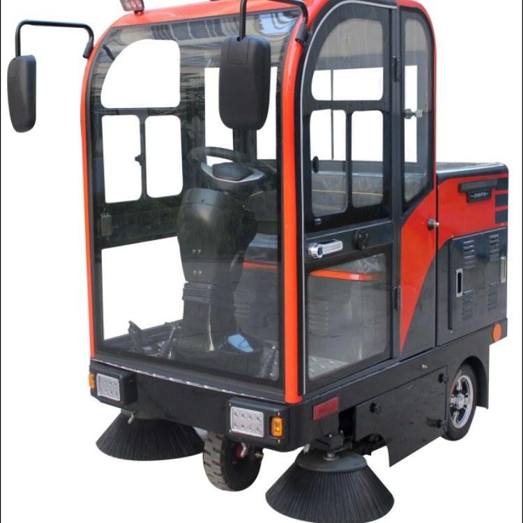 金驰小型电动扫地机 1500型驾驶式扫地机  适用物业保洁